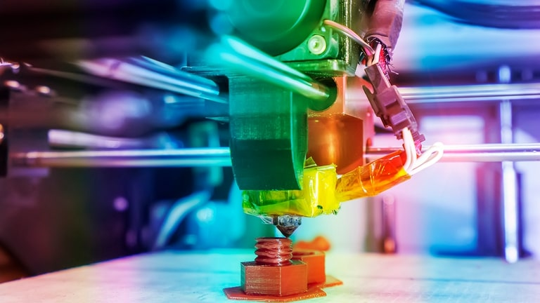 Into the World of 3D Printing or Three-dimensional printing