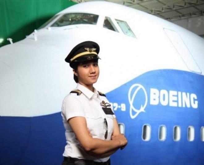 Ayesha Aziz, India's Youngest Woman Pilot