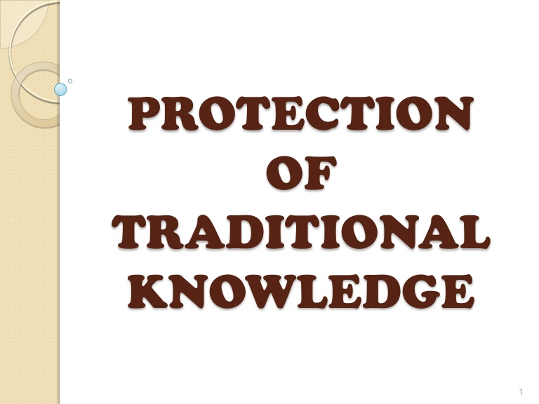 Bio-piracy related to Traditional Knowledge in India