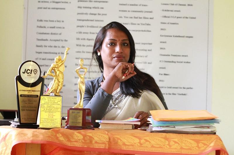 Kalki Subramanian, A Celebrated Indian Transgender