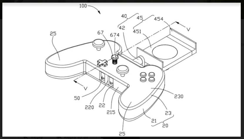 Oppo Patents Mobile Gaming Controller with Built-in Earphones Storage: Report
