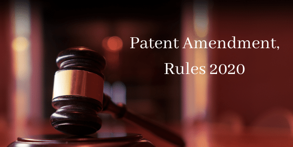 Patent-Amendment-Rules-2020