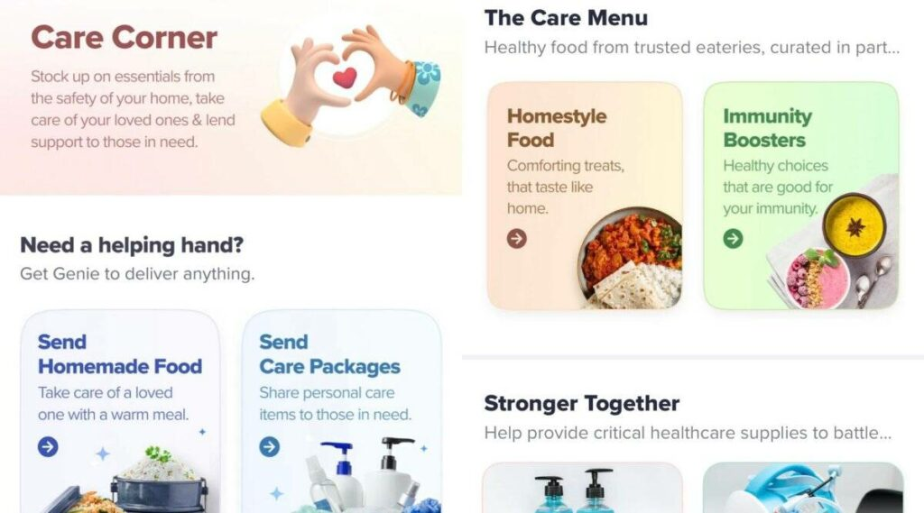 Swiggy Launches a Special Feature 'Swiggy Genie' to Help Covid Patients
