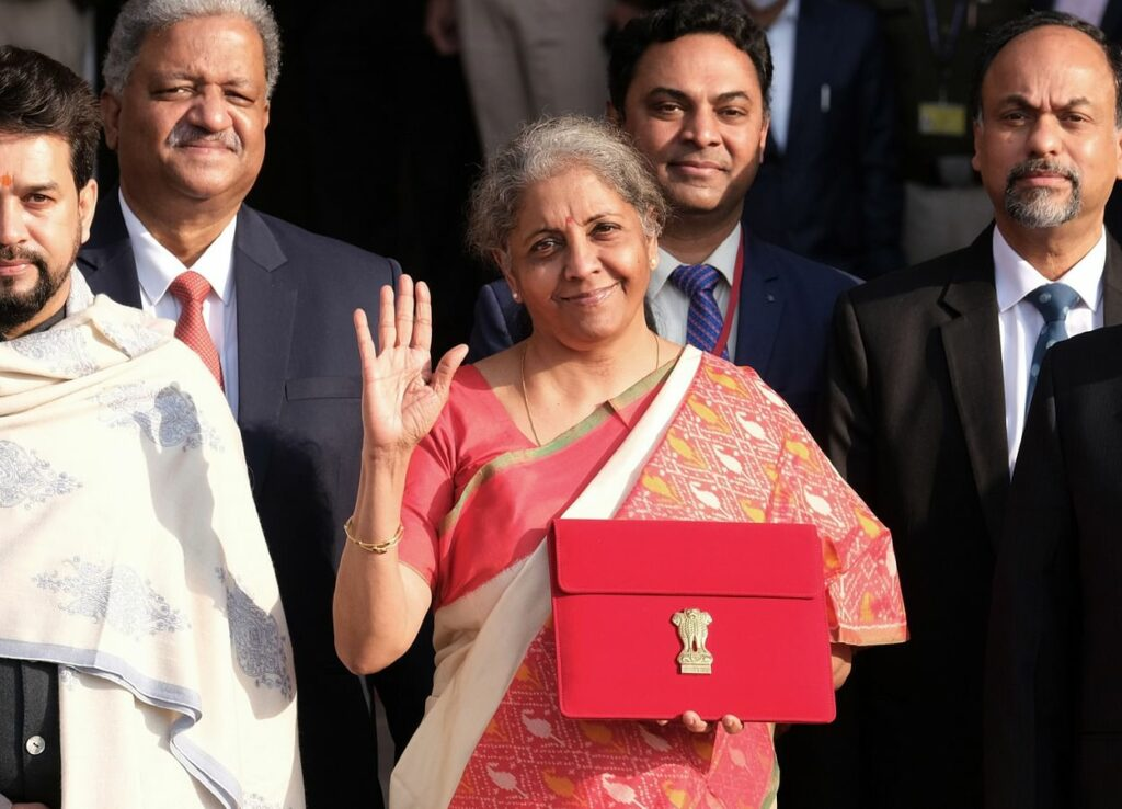 India's Union Budget for the FY 2021-22 presented by FM Nirmala Sitharaman
