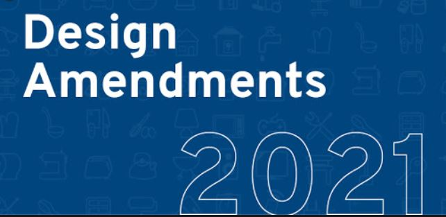Benefits arising from new design rules 2021