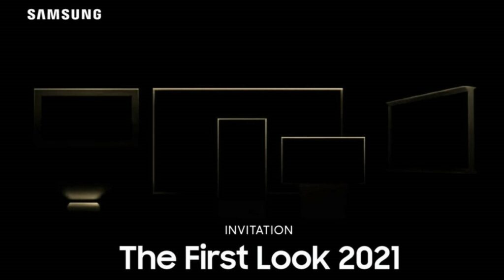 New Display Technologies to be Shown by Samsung on January 6, 2021