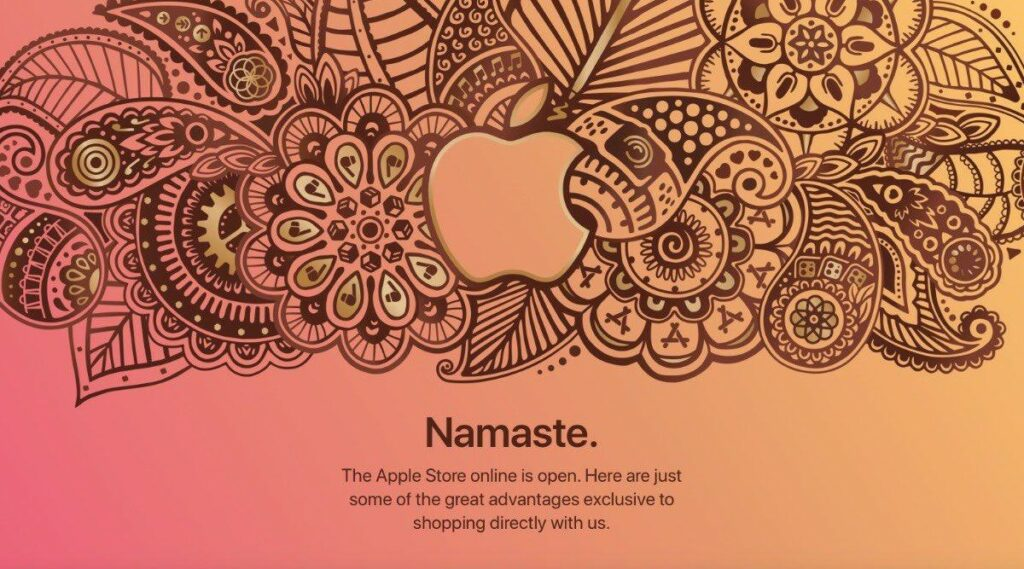 Apple says Namaste; Goes Live with First Online Store in India