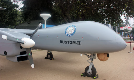 The DRDO's DroneRustom-2takes-off, India goes for armed Heron.