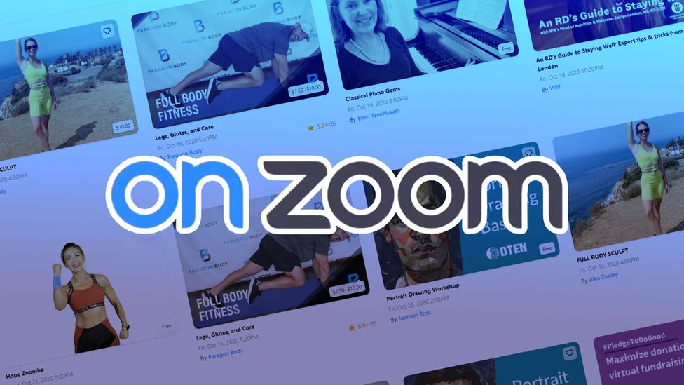Zoom enabled onZoom for live events