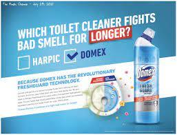 Domex vs Harpic